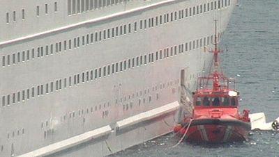 Mueren cinco personas al caer al mar un bote desde un crucero en La Palma