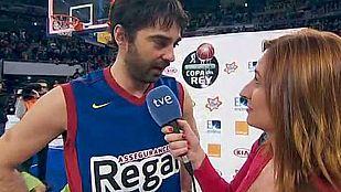 """Navarro: """"Se me ha vuelto a escapar el MVP"""""""