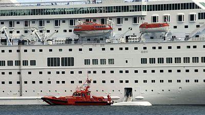 El crucero en el que murieron cinco personas podría zarpar para continuar el viaje