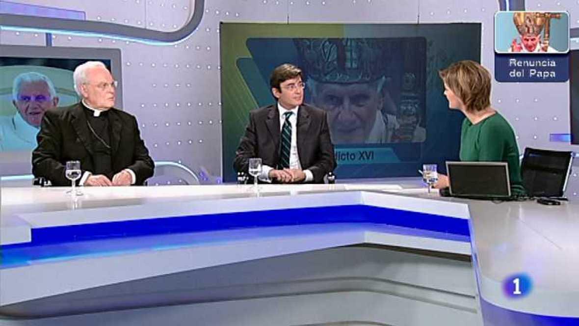 Especial informativo Renuncia Benedicto XVI - 11/02/13 - Ver ahora