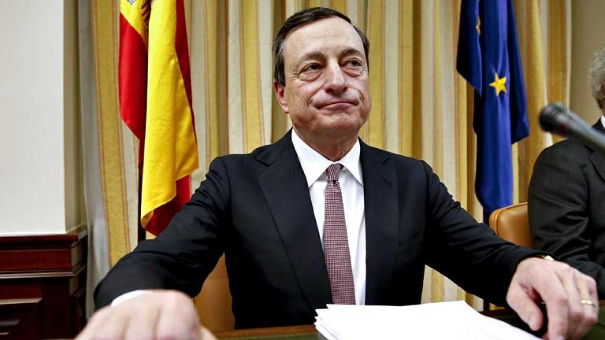 """Draghi dice que """"España va por el buen camino"""""""