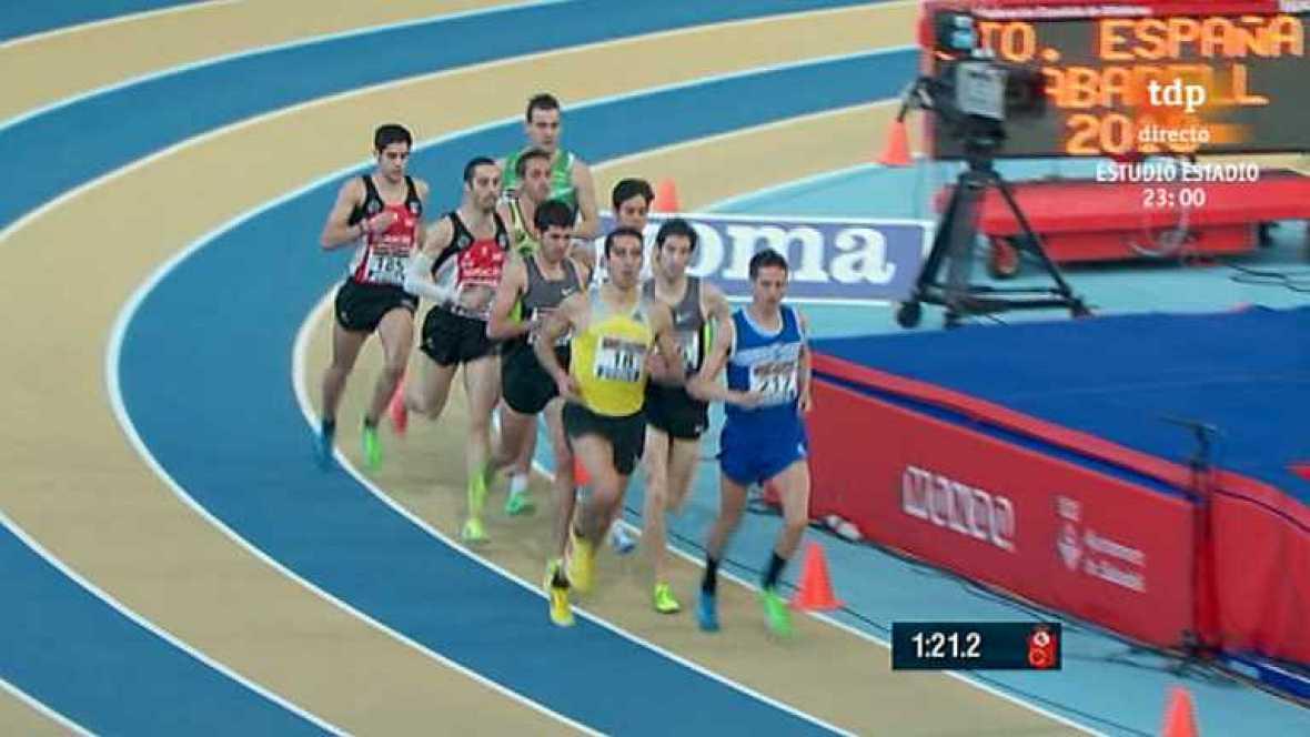 Atletismo - Campeonato de España: Pista cubierta, 2ª jornada (2) - Ver ahora