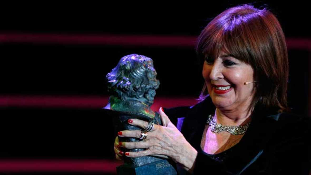 "Concha Velasco: ""Por fin tengo en mis manos un Goya"""