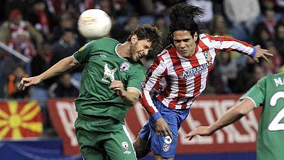 Vuelve la Europa League. El Levante está con un pie en octavos de final después del 3 a 0 ante el Olimpiacos, más difícil lo tiene el Atlético de Madrid. El Rubín Kazán ha puesto contra las cuerdas a los de Simeone.