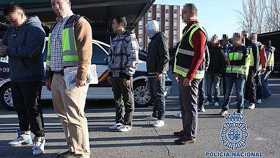 BANDAS LATINAS DETENCIÓN POLICÍA MADRID