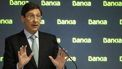Goirigolzarri asegura que espera iniciar la privatización de Bankia a partir de 2014