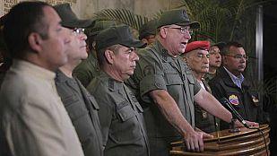 """El ministro de Defensa de Venezuela llama a la """"unidad"""""""