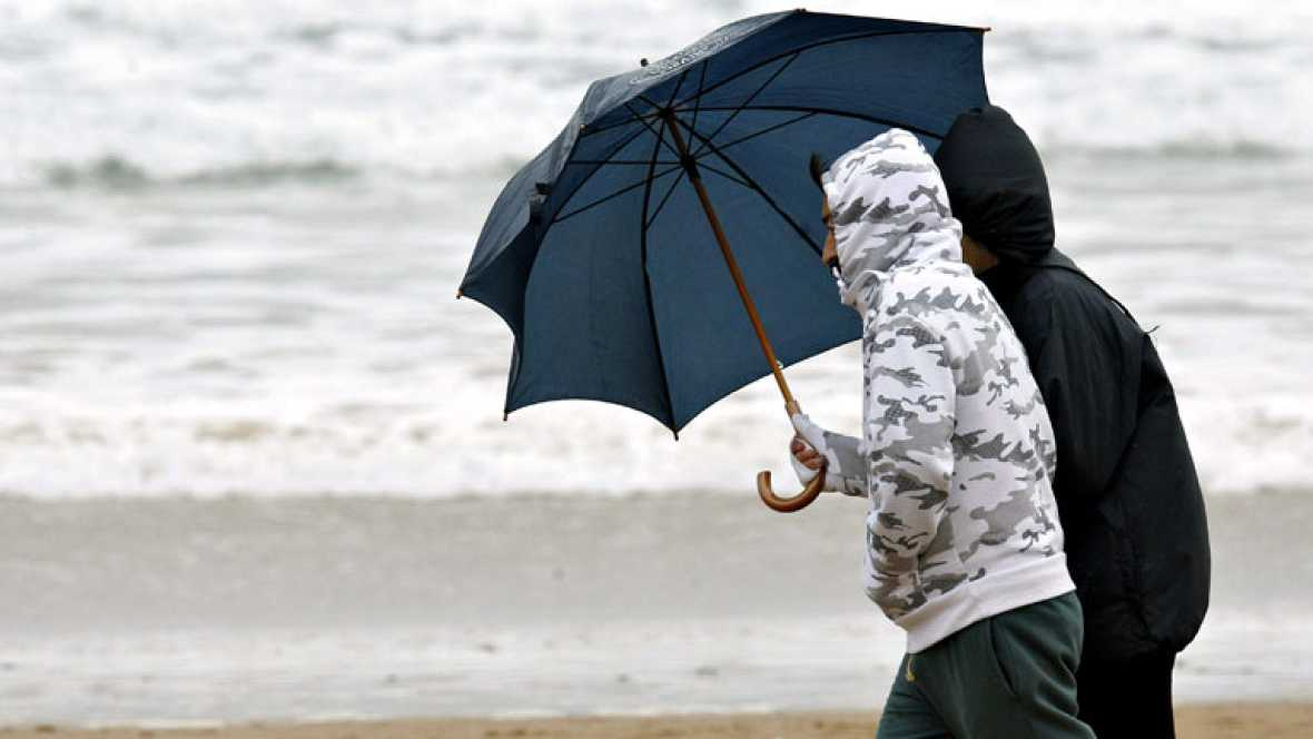 Lluvias en Galicia, Extremadura y área del Estrecho
