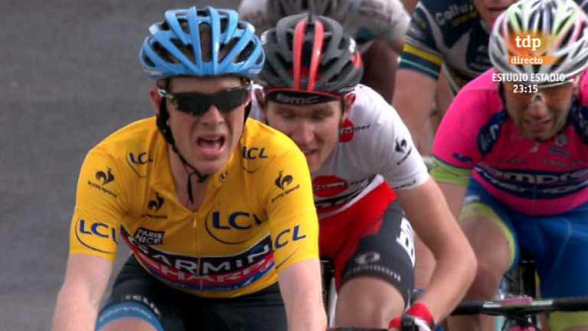 Ciclismo. París-Niza. 5ª etapa: Chateauneuf-Du-Pape - La Montagne de Lure - Ver ahora