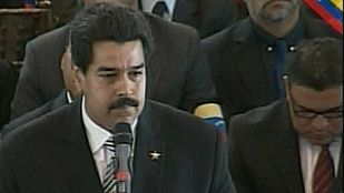 """Maduro, en el funeral de Estado: """"Chávez vive, la lucha sigue"""""""
