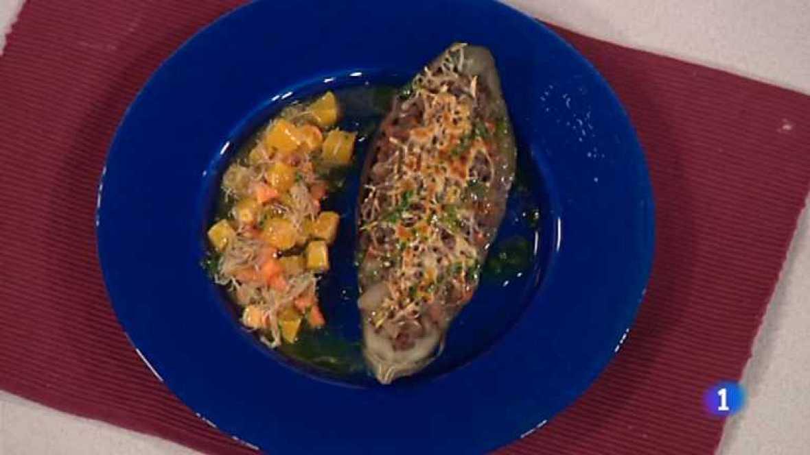 Cocina con Sergio - Berenjenas rellenas de ternera - Ver ahora