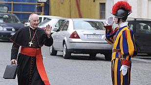 Todo preparado en el Vaticano para el cónclave