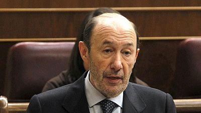 Rubalcaba y Valenciano cierran filas por la moción de Ponferrada