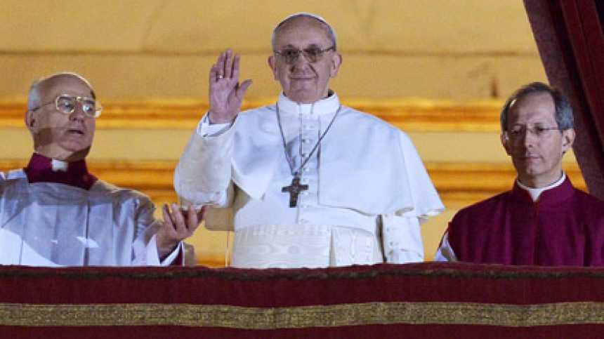 Las primeras palabras del nuevo papa Jorge Mario Bergoglio, Francisco