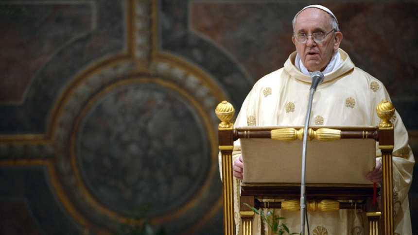 Primera misa del papa argentino en la Capilla Sixtina