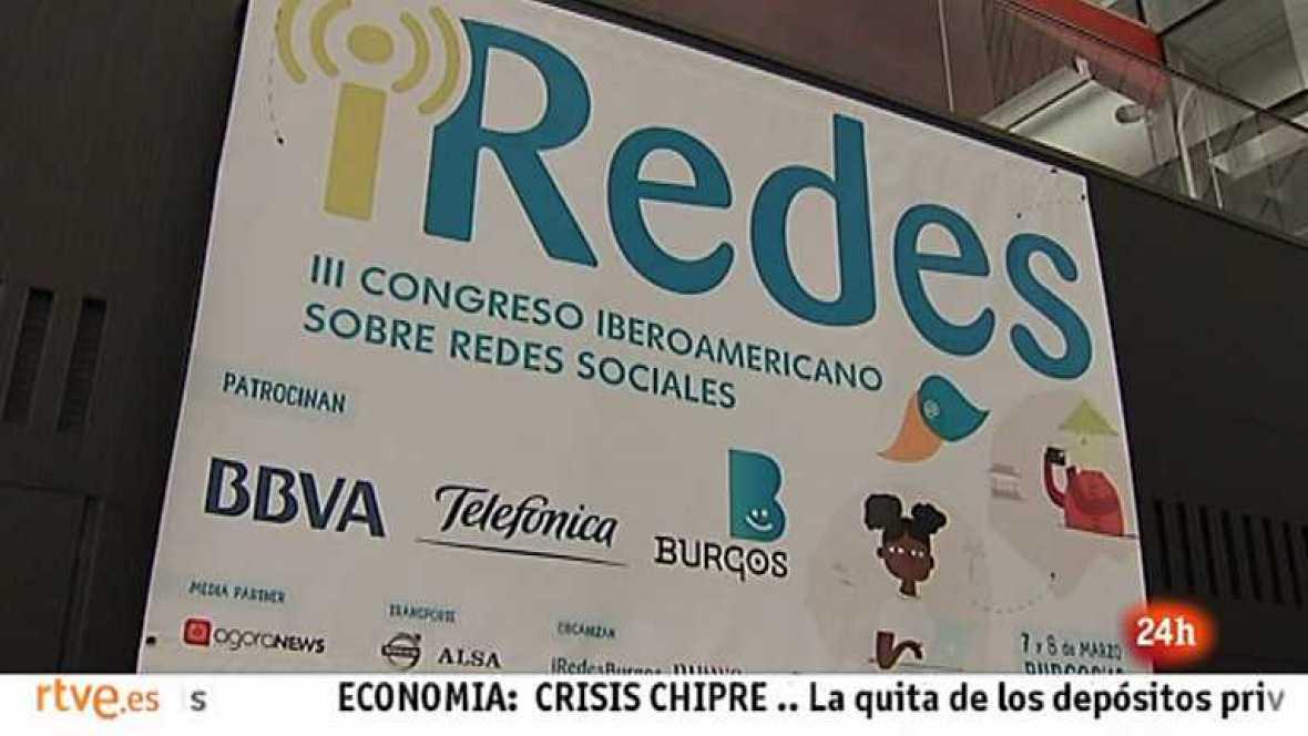 Cámara abierta 2.0 - El congreso iberoamericano iRedes, Busuu.com y Andreu Buenafuente en 1minutoCOM - 16/03/13  - Ver ahora
