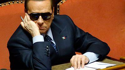Berlusconi dice que habrá protestas si el presidente del Parlamento es de centro-izquierda