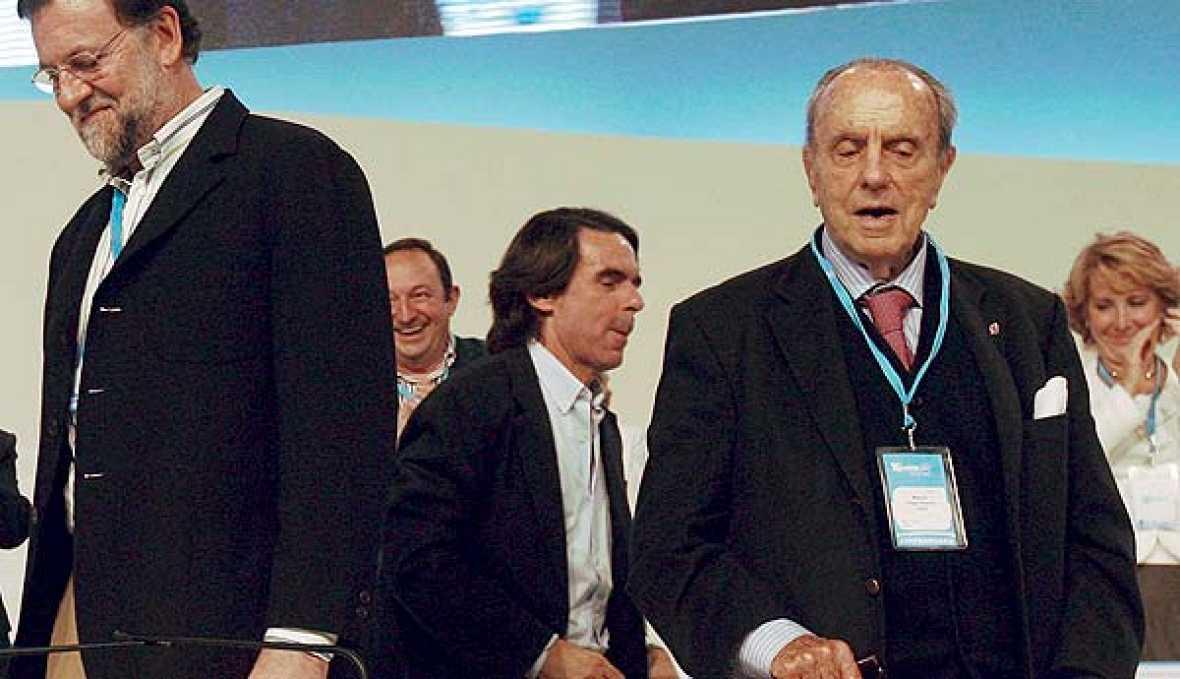Entrada de Aznar al Congreso