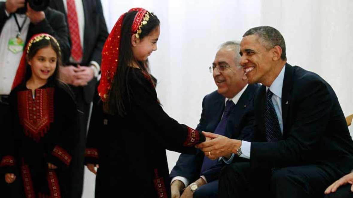 Obama propone retomar el proceso de paz sin condiciones