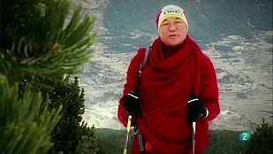 Cims - Thubten Wangchen a la Serra d'Ensija