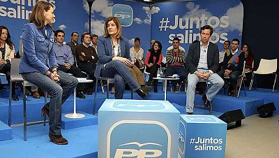 Cospedal asegura que algo ha cambiado y las crisis no afectan a España