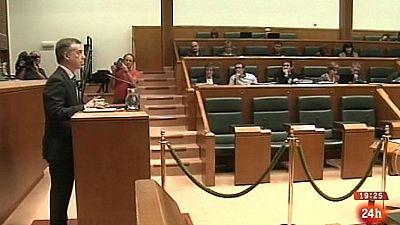 Parlamento - Otros parlamentos - Pleno vasco sobre el fin del terrorismo - 23/03/2013