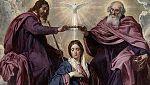 """Mirar un cuadro -  Comienzo de """"La coronación de la Virgen"""" (Velázquez)"""
