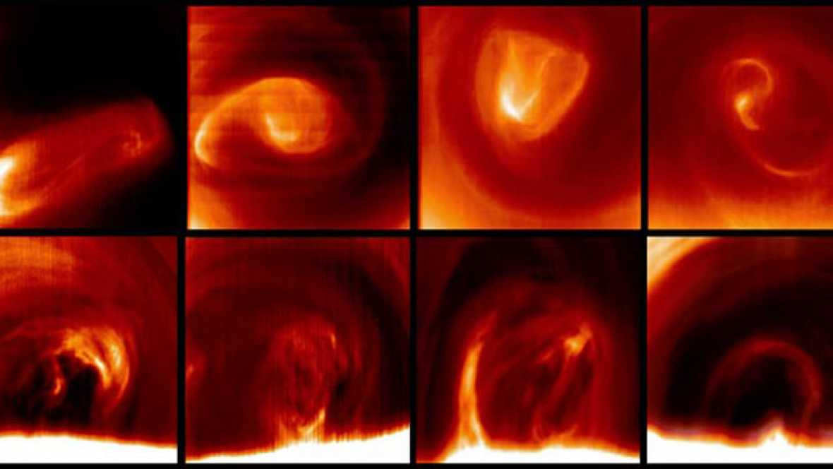 Venus tiene una atmósfera caótica