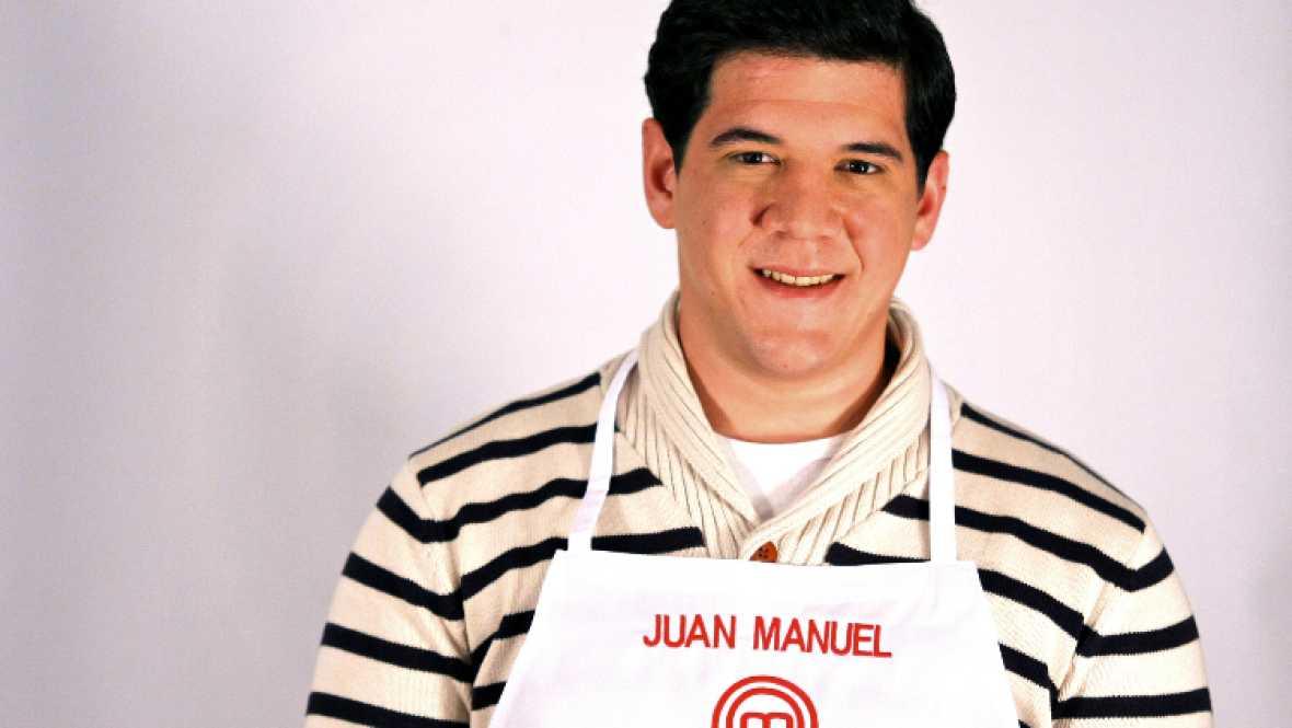 MasterChef - Juan Manuel. 25 años, camarero (Almería)