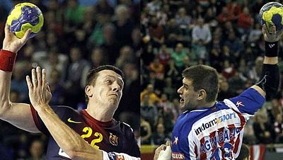En la Liga de Campeones de balonmano sólo un equipo español estará en la Final Four de Colonia ya que el bombo ha emparejado en cuartos al Barcelona contra el Atlético de Madrid. La ida el 20 Abril en Vistalegre, la vuelta una semana despues en el Pa