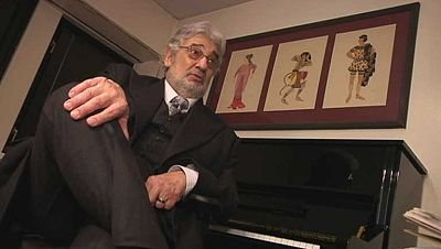 Plácido Domingo pone su voz de barítono en la piel Garmont en la ópera de Verdi