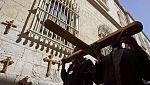 El Vía Crucis de Cristo del Viernes Santo en Jerusalén