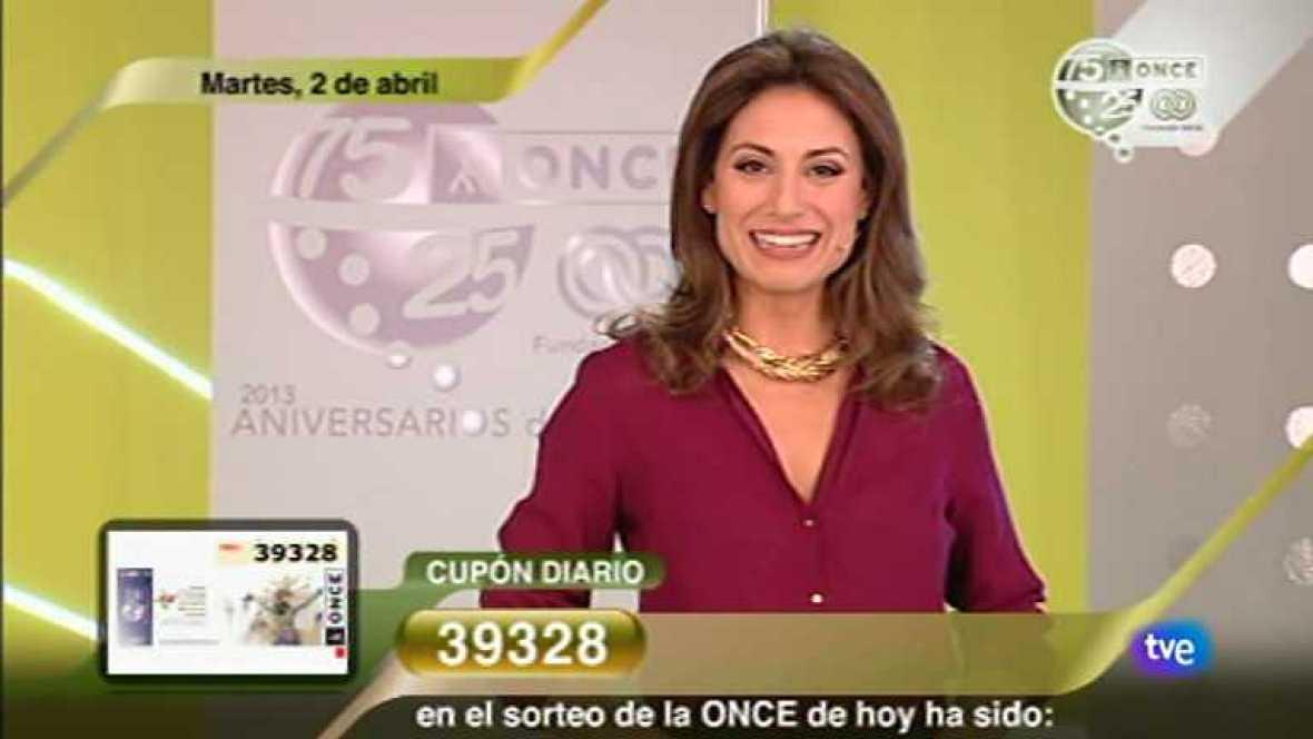 Sorteo ONCE - 02/04/13 - Ver ahora