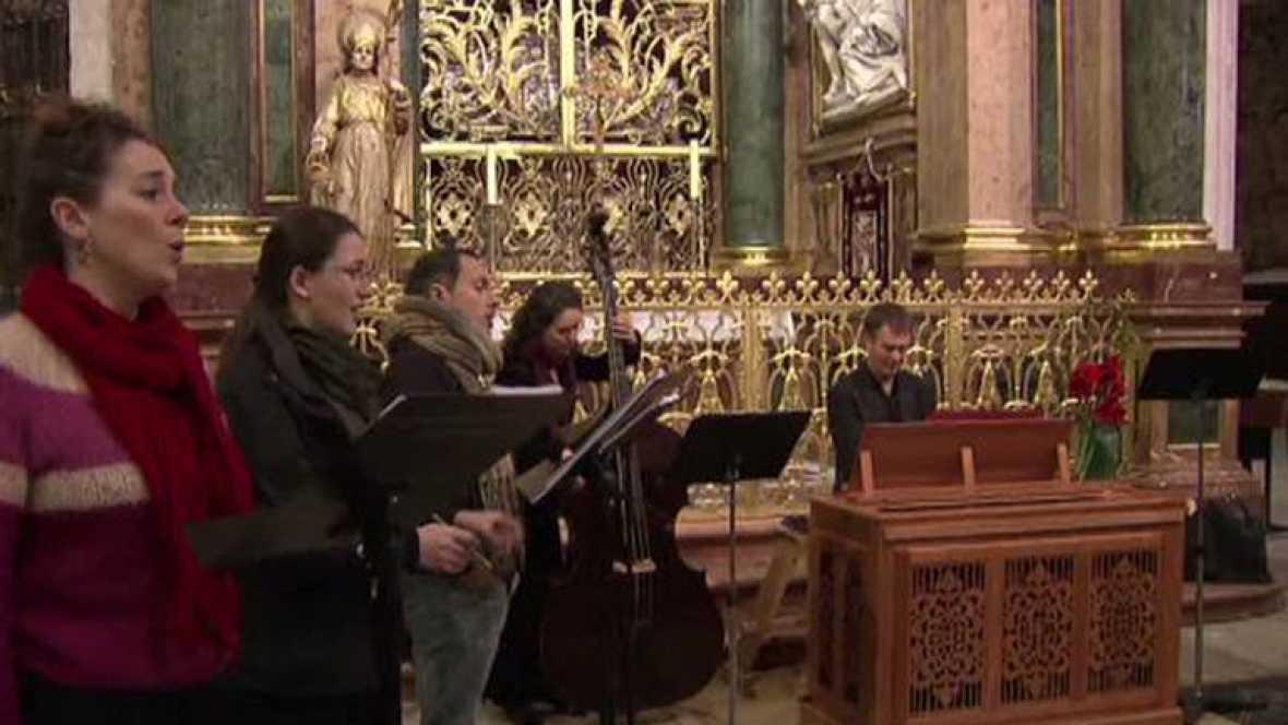 La Grande Chapelle ensaya en la Semana Religiosa de Cuenca - Ver ahora