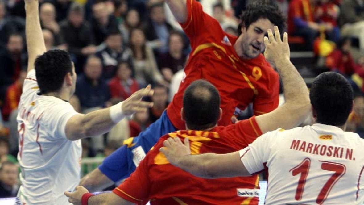 España, clasificada para el Europeo de balonmano 2014
