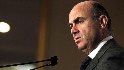 El ministro Luis de Guindos afirma que este año no habrá crecimiento económico