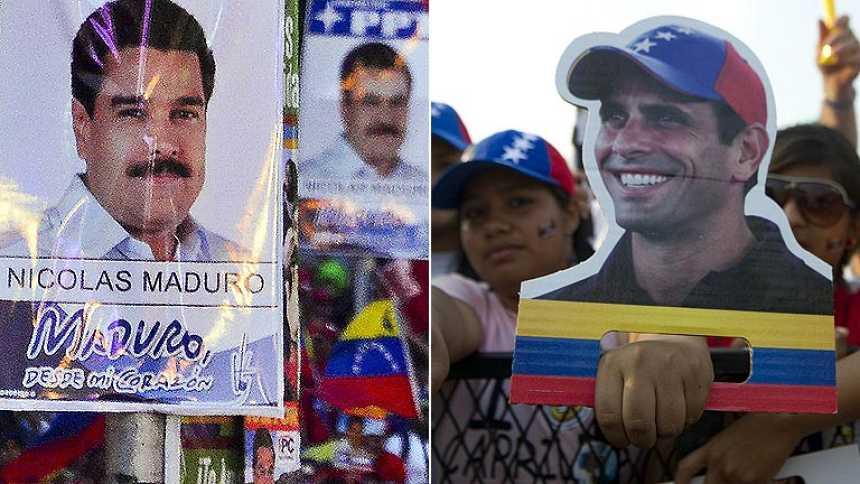 Finaliza la campaña electoral en Venezuela