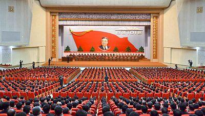 Corea del Norte celebra el 101 aniversario del nacimiento de su fundador, Kim Il-sung