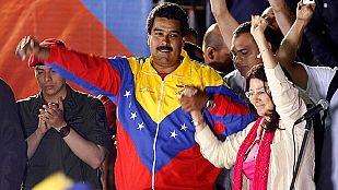 Maduro gana a Capriles por apenas 300.000 votos de diferencias