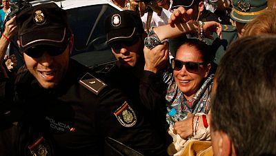 Condenas de prisión para Muñoz, Zaldívar y Pantoja