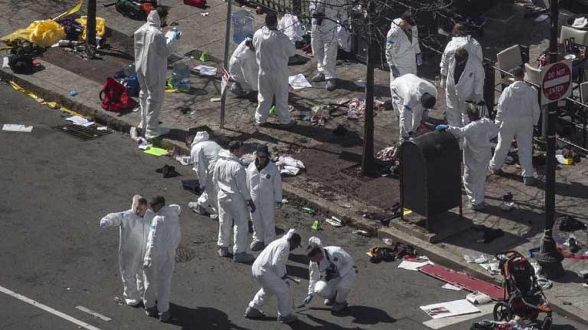 El FBI busca pistas sobre la autoría del atentado en Boston