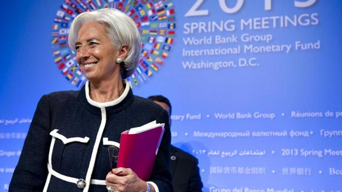 """La directora gerente del FMI dice que España debe ser más """"flexible"""" en el ritmo de ajuste"""