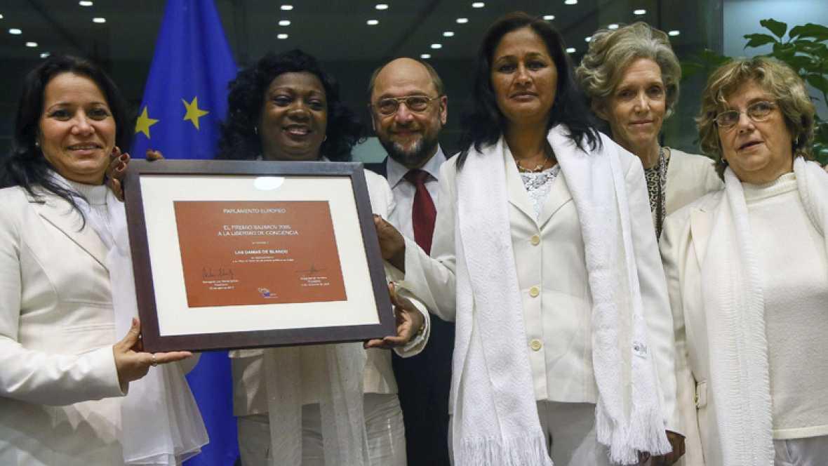 Las Damas de Blanco, premio Sájarov