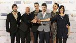 El equipo de Clásicos de La 1 recoge el premio a Mejor Autopromo y/o Imagen Corporativa