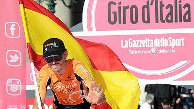Samuel Sánchez busca el podio en el Giro