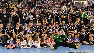 El Atlético de Madrid, campeón de la Copa de balonmano