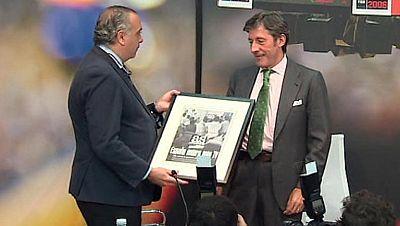 TVE, premiada por sus 50 años de baloncesto