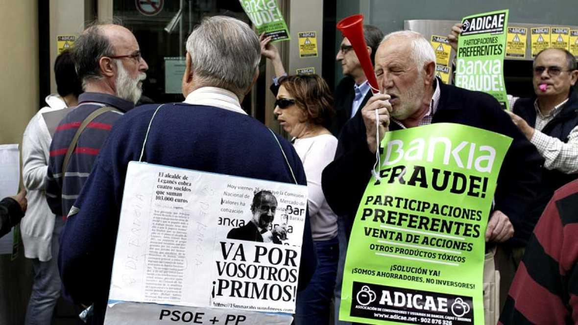 Decenas de oficinas cerradas en bankia por el toque a for Bankia oficina por internet