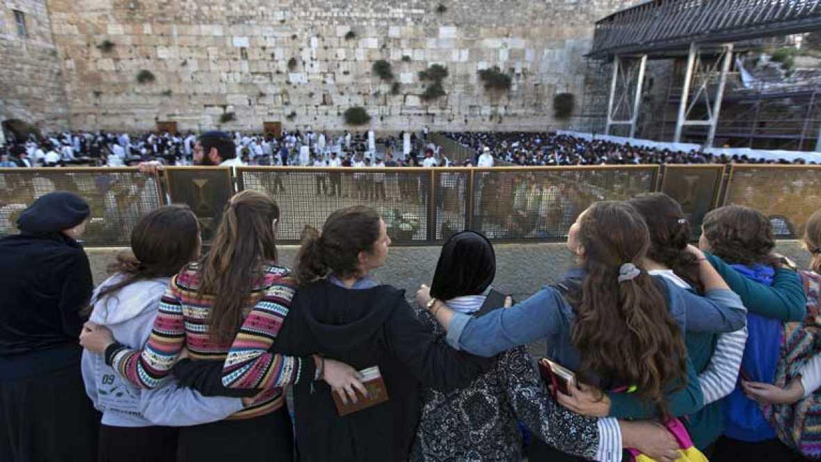 Incidentes en el muro de las lamentaciones entre judíos y ultraortodoxos