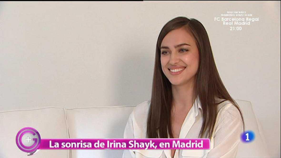 La sonrisa de Irina Shayk